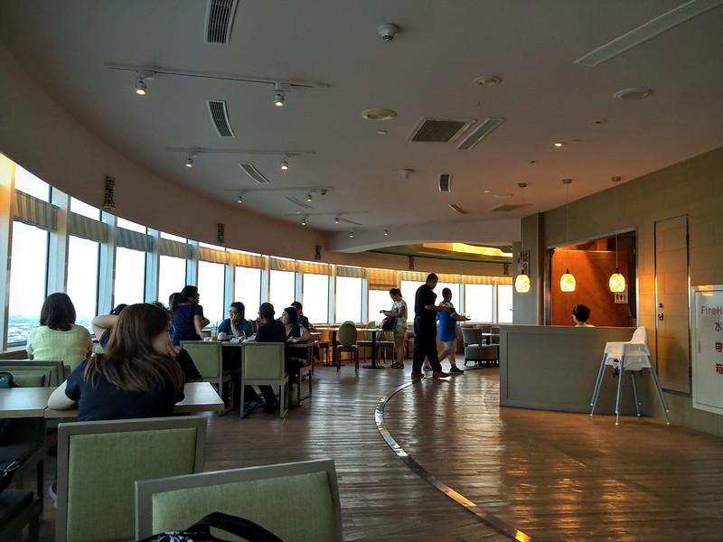 童綜合25F丹堤咖啡旋轉地面