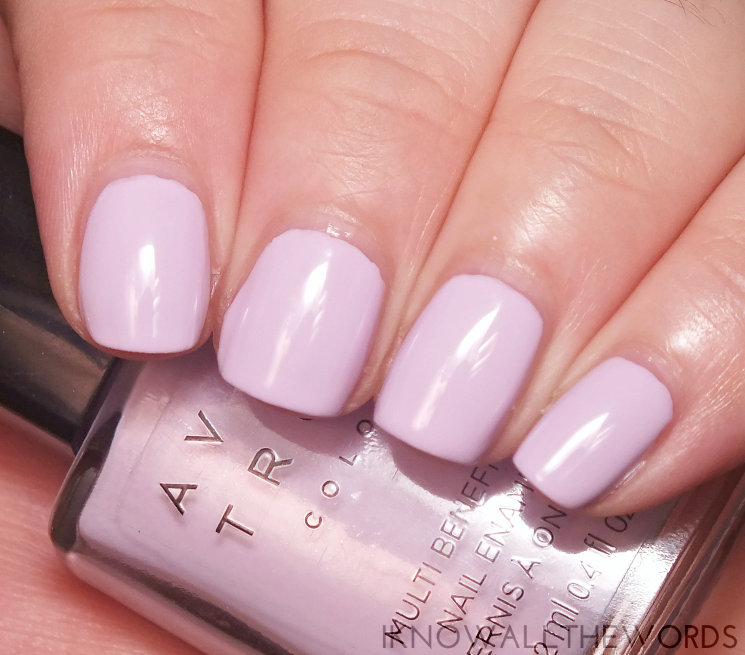 Avon true colour multi benefit bb polish lilac love