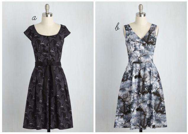 ModCloth Halloween dresses