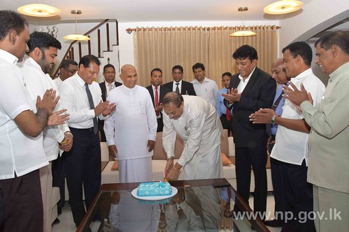 Parliament Speaker's Birthday celebrated at Governor's Residence