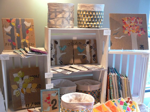 Jenny Bartoy booth at Holiday Arts + Crafts Open House | by Stumbles & Stitches