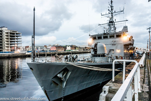 Dublin Docklands: L.É. ORLA was formally the HMS SWIFT | by infomatique