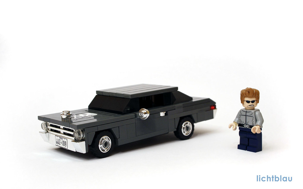 70s Chevy Nova Death Proof 01 Lego Version Of A 1970 Or