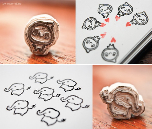 Tutorial how to carve eraser stamps ged