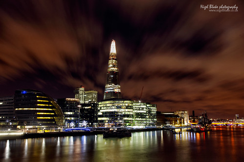 The Shard seen from Tower Bridge London UK | by Nigel Blake, 15 MILLION views! Many thanks!