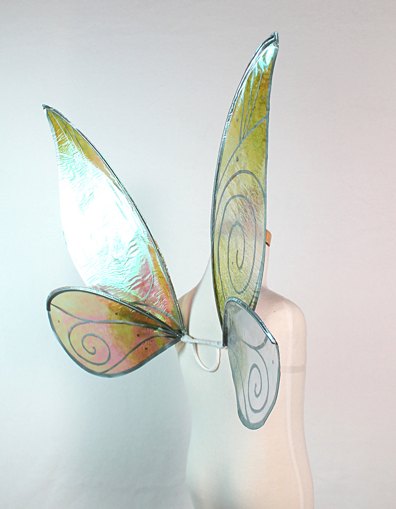 Child Sized Tinkerbell Wings In Cellophane My First