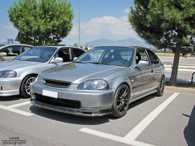 honda civic ej9 pre facelift thunder grey flickr photo sharing. Black Bedroom Furniture Sets. Home Design Ideas