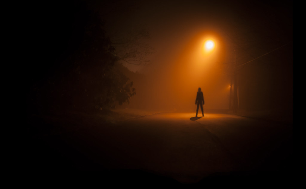 slender | What a foggy night it was! Perfect for some ...