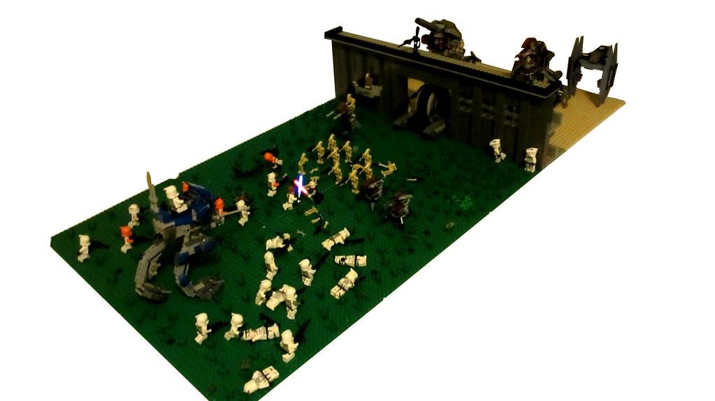 Lego star wars droid base on malachor v as the clone war r flickr - Lego star wars base droide ...