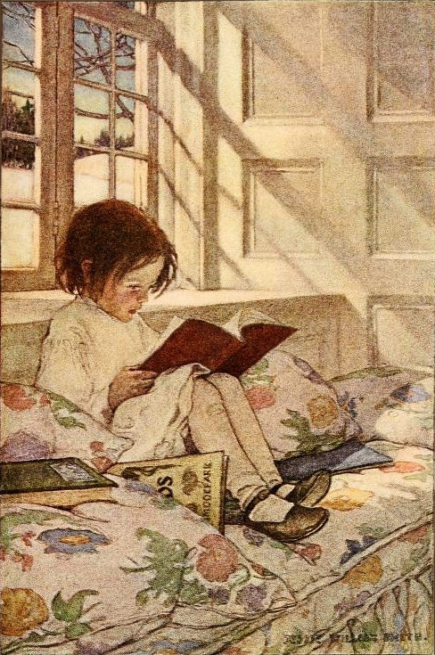 Jessie Willcox Smith Picture Books In Winter 1905 From