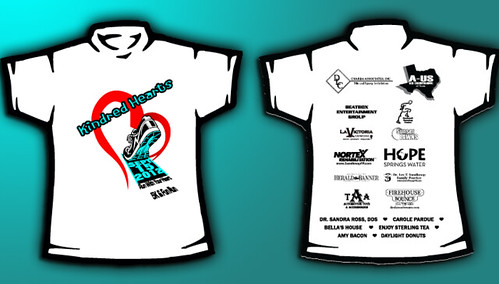 5k race t shirt design key element media flickr for Sponsor t shirt design