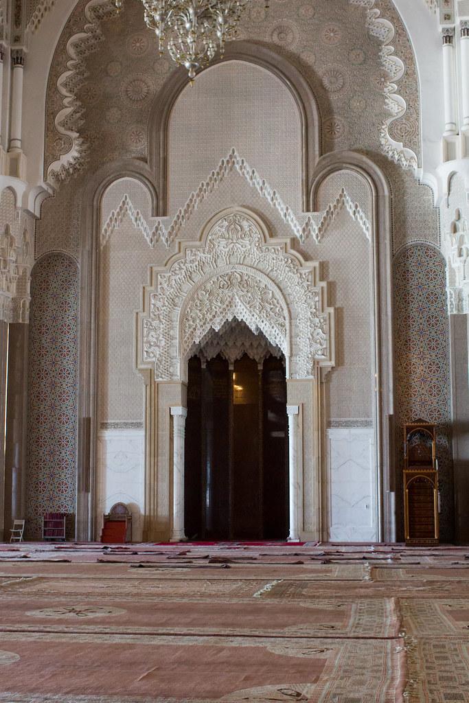 mihrab and minbar the mihrab and minbar of the hassan ii