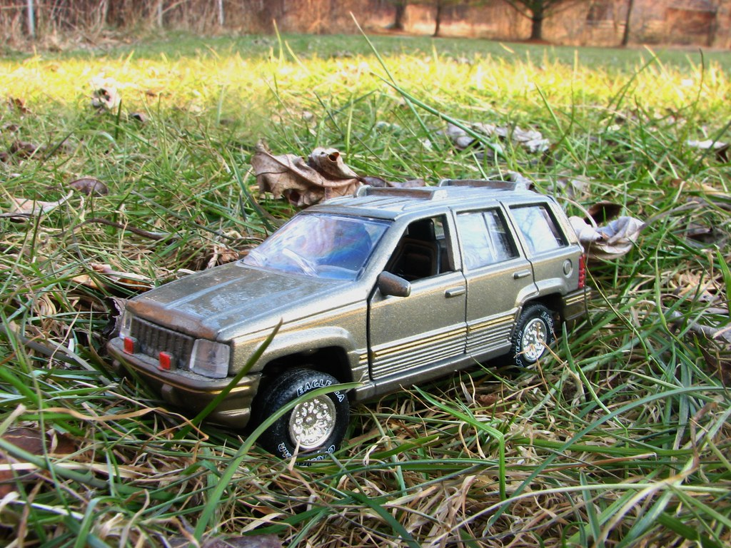 ... A 1/43 SCALE 1995 JEEP GRAND CHEROKEE | By Richie 59