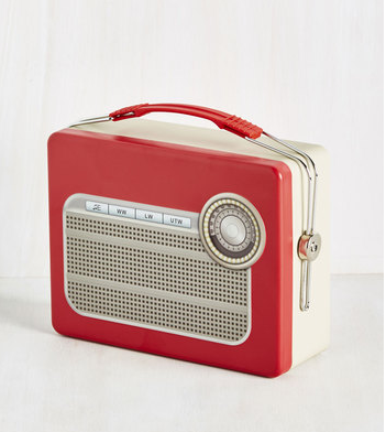 radio lunchbox