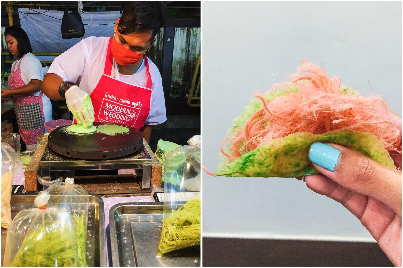 vegan Roti Sai Mai from Phuket Vegetarian Festival 2016