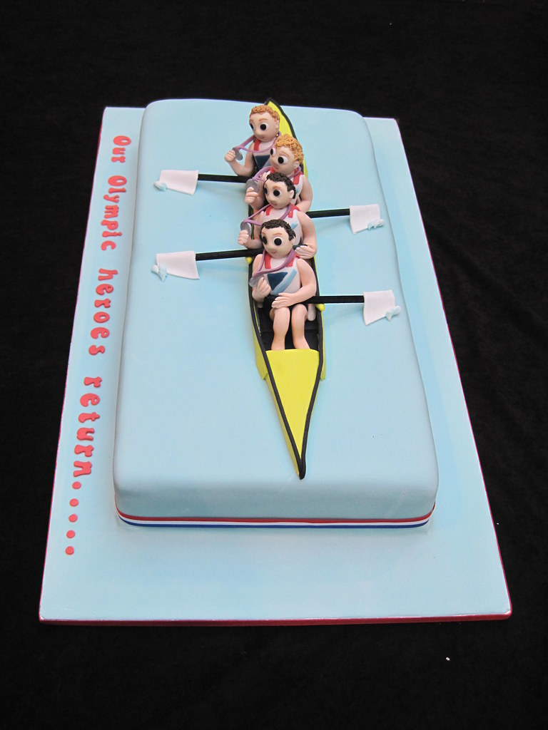Rowing Cake Ideas