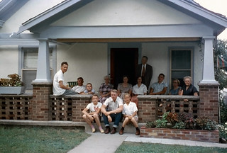 Relaxing on the Porch, 1955 | by Roadsidepictures