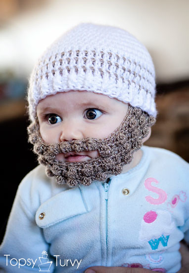 Crochet Bearded Beanie Pattern Free Extra Small Imtopsytur Flickr