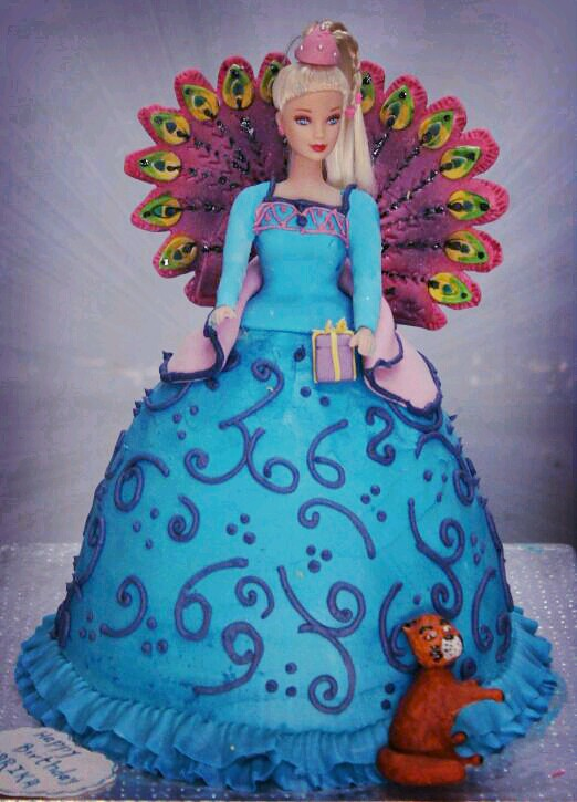 Easy Doll Cake Images : Island princess barbie doll Cake Ordering Cake is easy ...