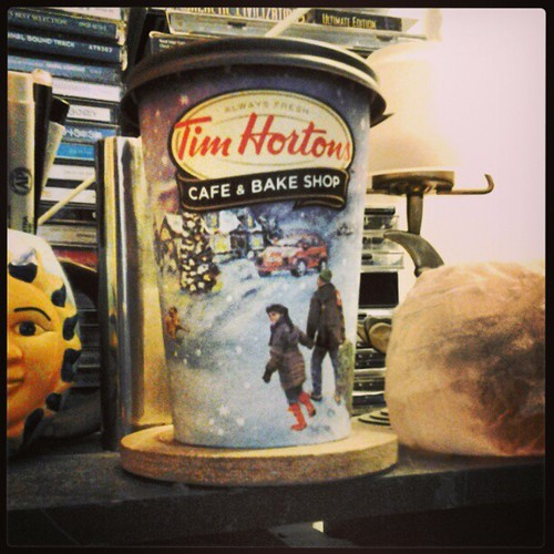 Wonder what would happen if TimmyHo's ever announced a withdrawal from Buffalo.... #TimHortons | by Jaquandor