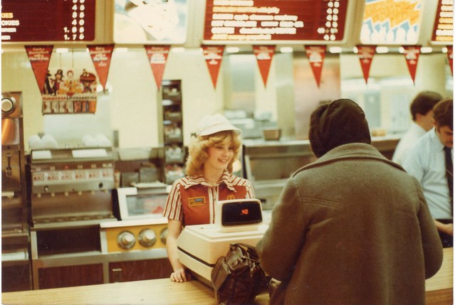 McDonalds worker in the early 80's