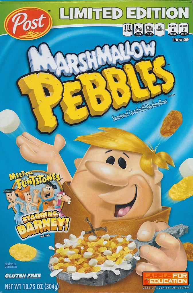 sc 1 st  Flickr & Flintstones Post Marshmallow Pebbles Cereal Box 2012 | Flickr Aboutintivar.Com