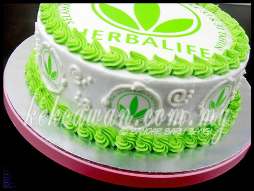 anniversary ideas with pictures - Sponge Cake for Herbalife Team