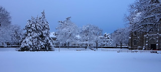 Snowfall, December 2012 | by BostonCollegeFlickr