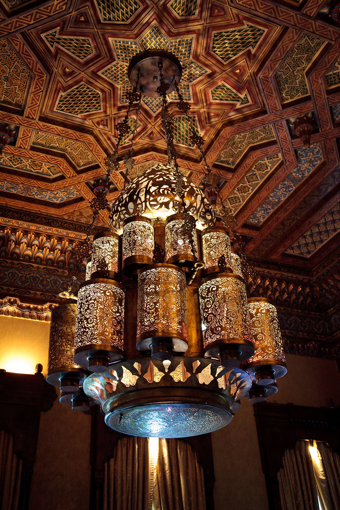 Arabic Chandelier Saraya Gallery Antique Ceiling Stoked