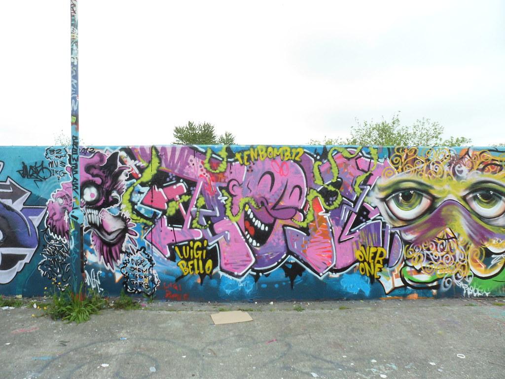 Graffiti wall chelmsford - Wharf Road Car Park Graffiti Chelmsford Essex John V Nicholls Flickr