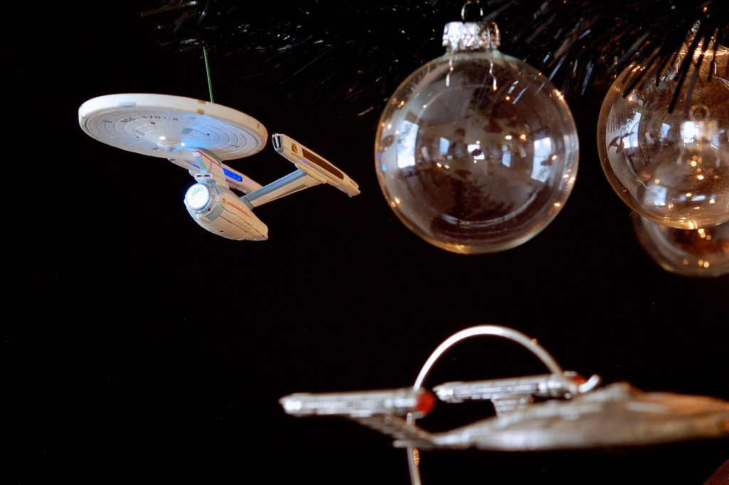 USS Enterprise-A On The Star Trek Christmas Tree 2012 | Flickr