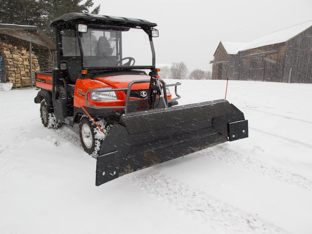 Tractor Snow Wing Blades : Plow wing buyer snow wings mounted to the curtis