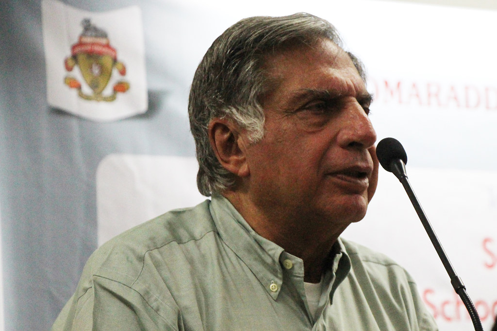 Ratan Tata, Top 10 successful entrepreneurs of India | VoxyTalksy