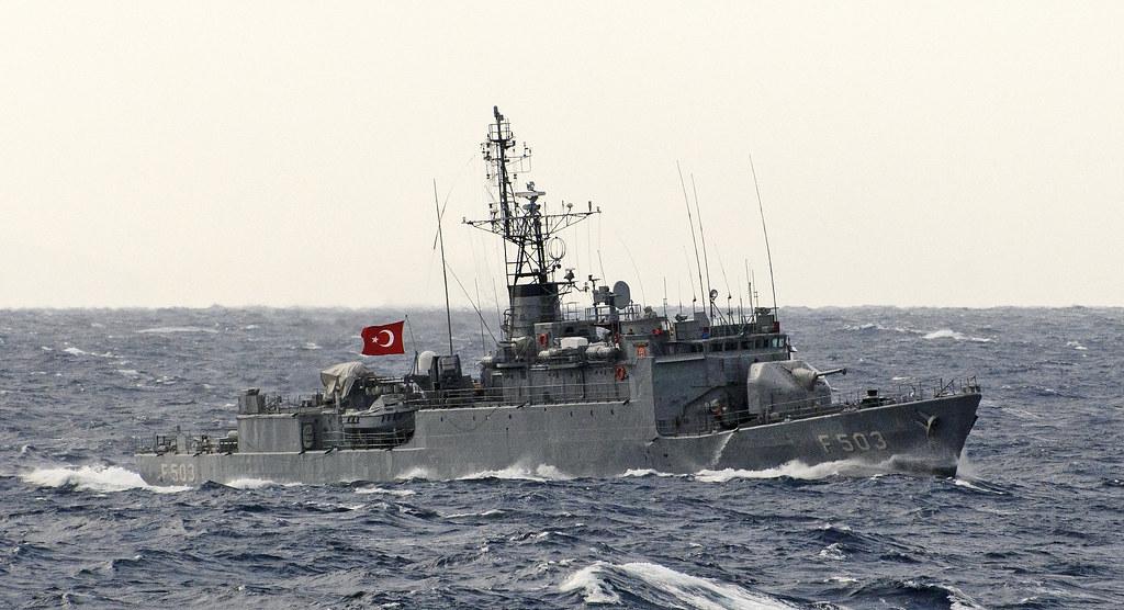 TCG Beykoz (F-503) | B class corvette (Turkish: Burak ...