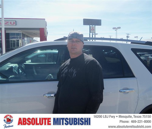Congratulations To Joshua Deckard On The 2010 GMC Acadia