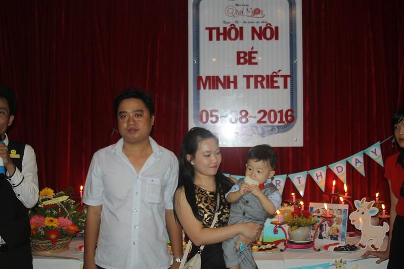 Thôi Nôi Bé Minh Triết Ngày 06/08/2016