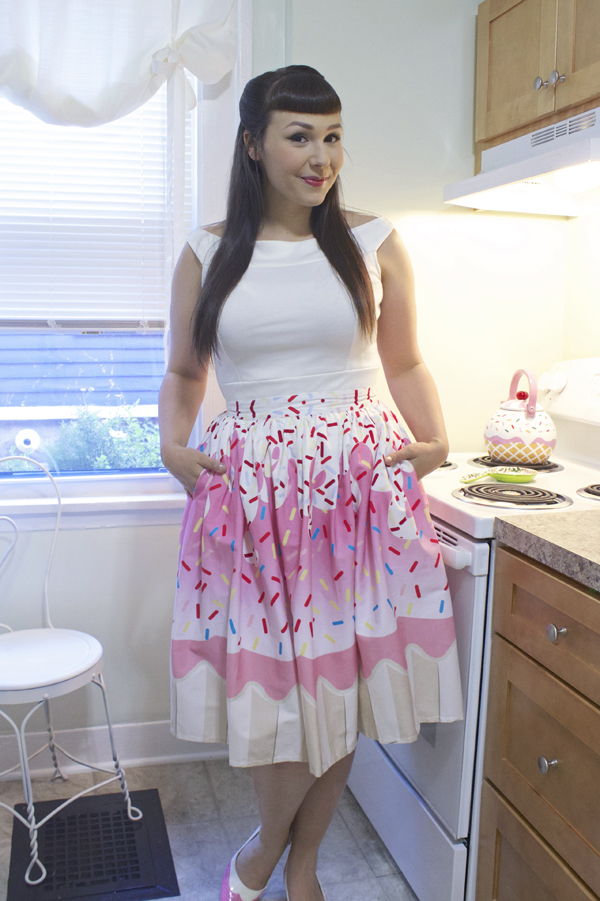 unique vintage cupcake skirt