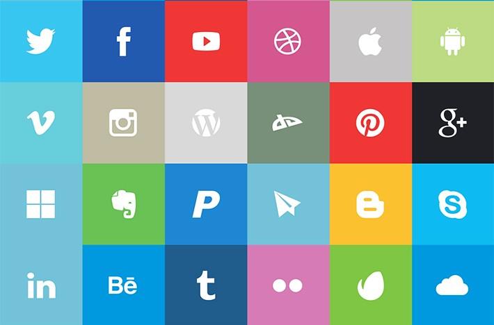 facebook, google, twitter, pinterest, youtube, google plus, tumblr, linkedin, skype, snapchat, apple, googleplay