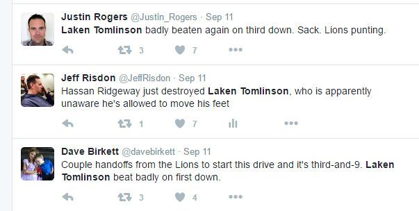 Tomlinson Tweets