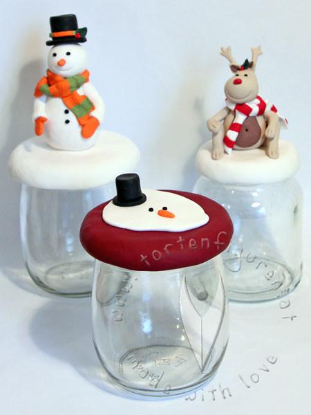 Weihnachtsgläser weihnachts gläser serie tortenfiguren flickr