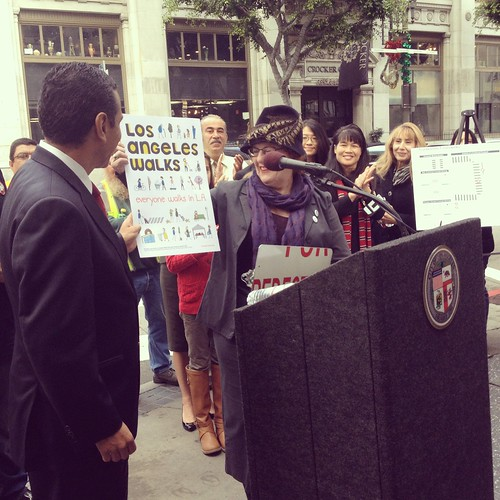 Continental crosswalks press conference | by losangeleswalks