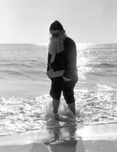 Santa Claus at Panama City Beach, Florida | by State Library and Archives of Florida