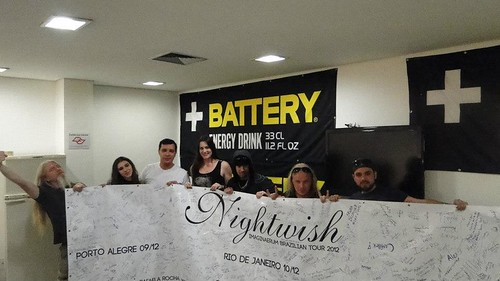Battery - Nightwish Meet&Greet in São Paulo 2012 | by Battery Energy Drink