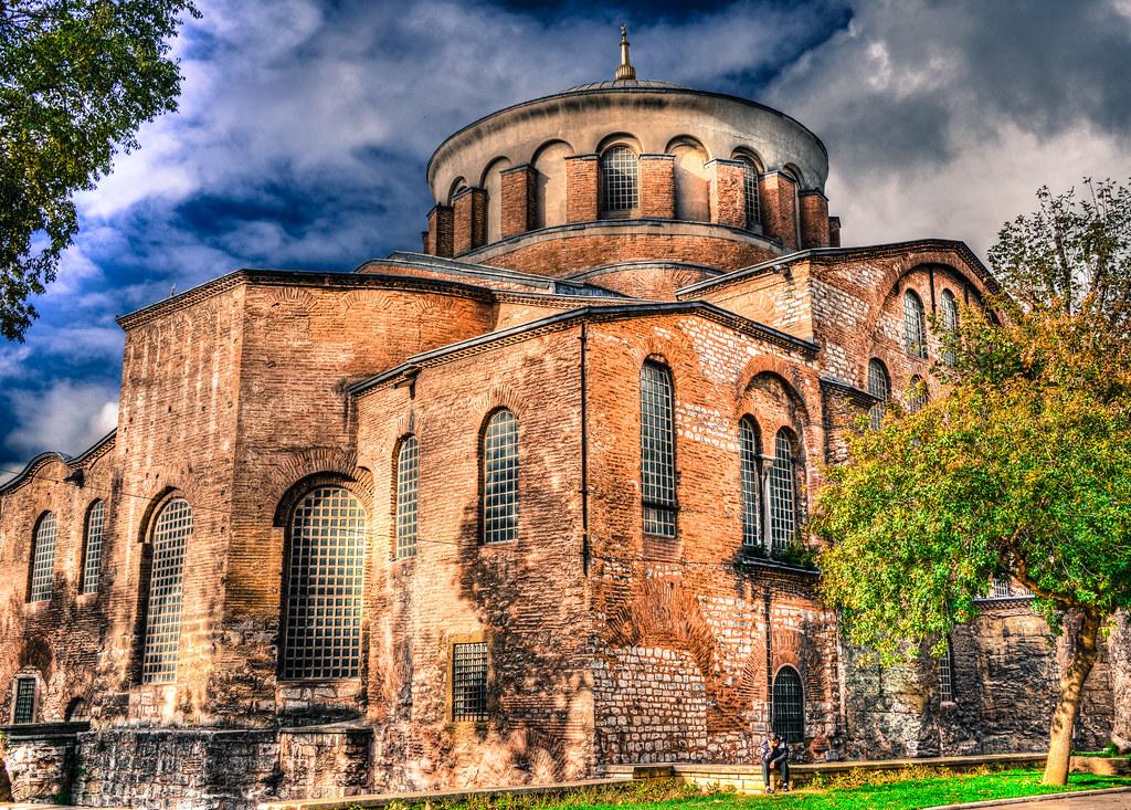 Church of Hagia Eirene (Hagia Irene) at Topkapi Palace Ist ...