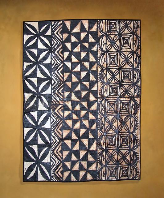 Traditional Tongan Tapa cloth | This Ngatu is approx. 40 ...