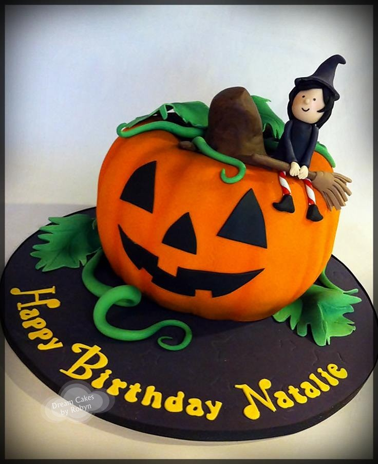 Halloween Pumpkin Birthday Cake wwwfacebookcompages Flickr