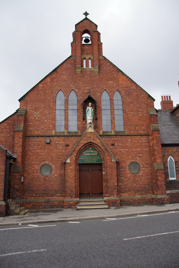 St Patrick S R C Church Thornaby Flickr