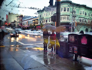 Rainy day in the Castro | by bark