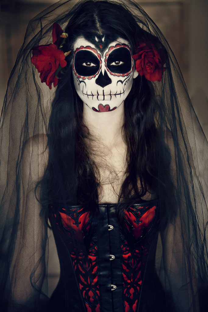 catrina la reina del d a de los muertos anna theodora flickr. Black Bedroom Furniture Sets. Home Design Ideas