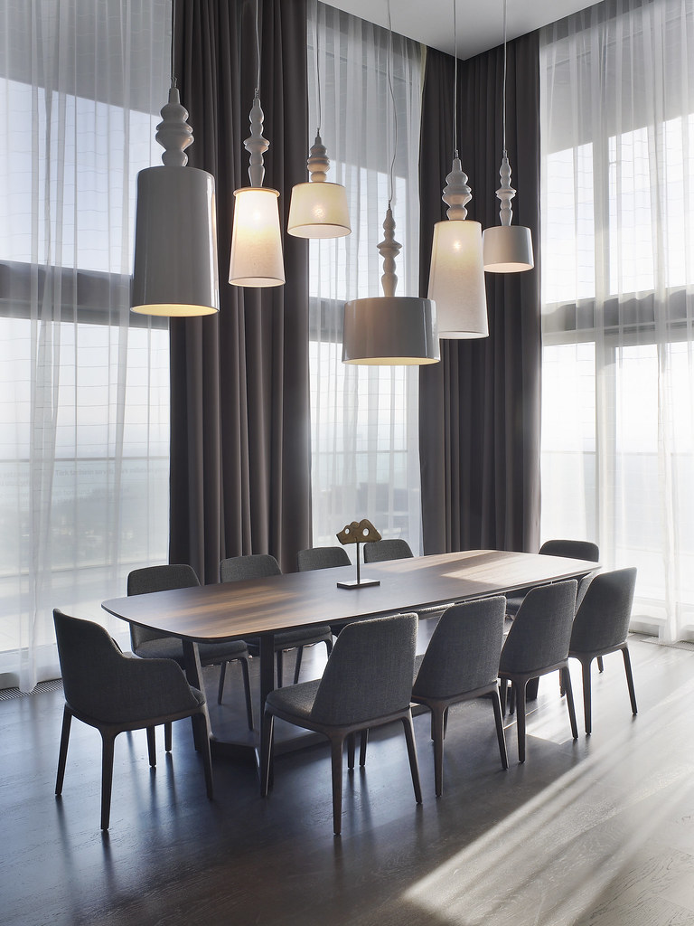 Le m ridien istanbul etiler presidential suite dining tabl for Design hotel 6f